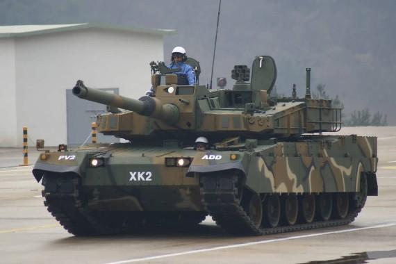 Xe tăng chiến đấu chủ lực của Hàn Quốc K2.