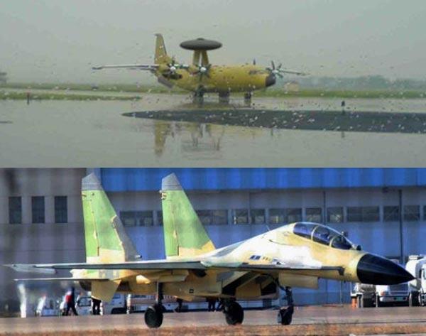 Chuyên gia quân sự Trung Quốc tuyên bố nước này sẽ kết hợp máy bay cảnh báo sớm KJ-500 và tiêm kích đa nhiệm J-16 để áp đặt không-hải chiến trên biển Đông.