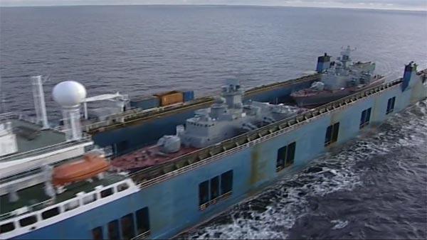 2 tàu tên lửa Molniya bàn giao cho Việt Nam bị ghi hình bởi một trực thăng của Pháp. Hạn chế tối đa việc tàu ngầm Kilo bị ghi hình có ý nghĩa rất lớn đối với hoạt động của tàu về sau.