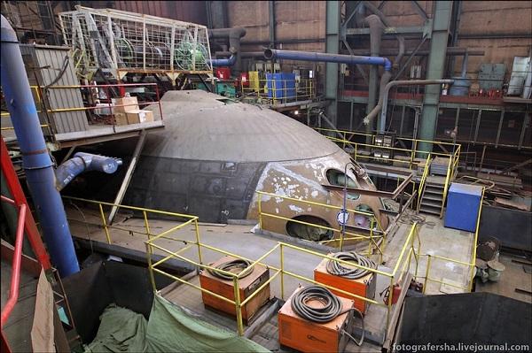 Tàu ngầm Sindurakshak vừa được nâng cấp tại nhà máy