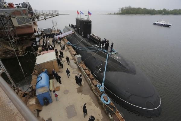 Tàu ngầm Kilo Hà Nội