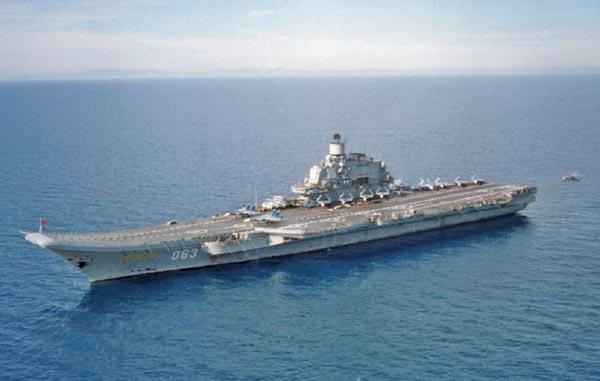 Chuyên gia Mỹ cho rằng hải quân nước này nên tránh xa tàu sân bay Kuznetsov của Nga bởi nó có thể tự chìm bất cứ lúc nào.