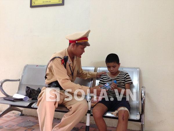 Nguyễn Nhật Nam (13 tuổi) đã được chuyển vào Trung tâm bảo trợ xã hội số 1(Hà Nội)