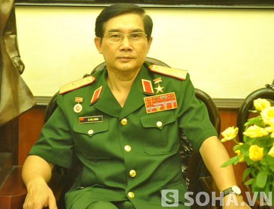 Thiếu tướng Lê Mã Lương.