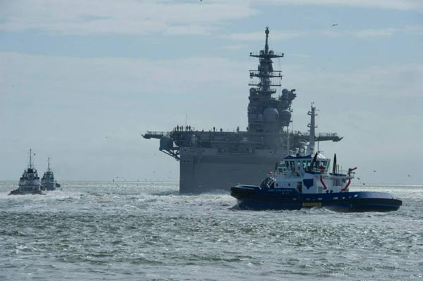 Sự có mặt của siêu tàu đổ bộ LHA-6 sẽ cho phép nâng cao khả năng tấn công đổ bộ vốn đã rất mạnh của Mỹ.