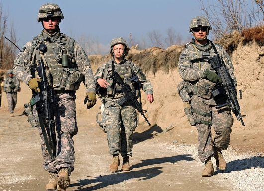 Tại Iraq, trong thời kì cao điểm, cứ mỗi lính Mỹ thì có 1 nhân viên hợp đồng, tức là chiếm tỷ lệ 50% của toàn bộ lực lượng Mỹ.