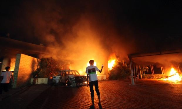 Vụ tấn công vào lãnh sự quán Mỹ ở Benghazi, Lybia, làm đại sứ thiệt mạngcó thể không trở thành thảm kịch nếu có sự mặt của những công ty an ninh tư nhân như Blackwater