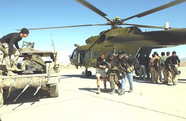Quân đội Mỹ là một khách hàng lớn của các công ty lính đánh thuê