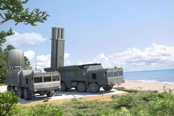 Hệ thống tên lửa di động Club-M của Nga.