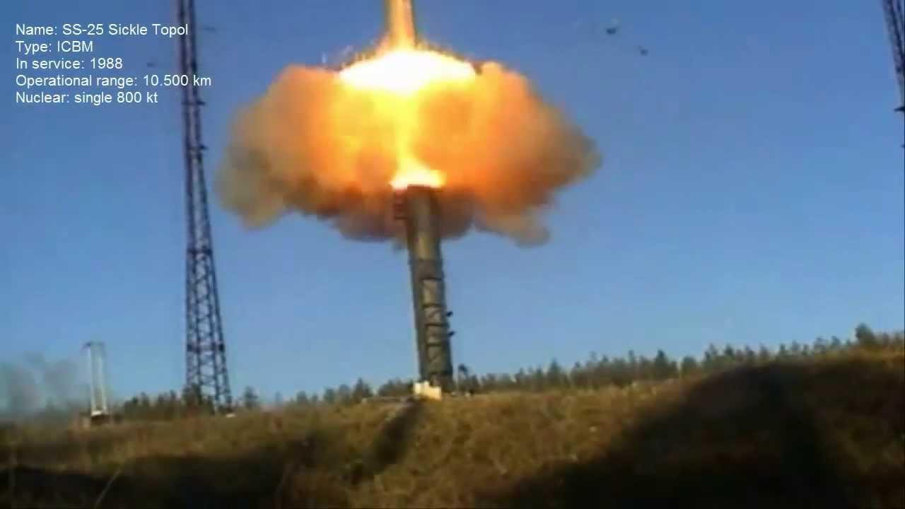 Tên lửa đạn đạo Topol của Nga