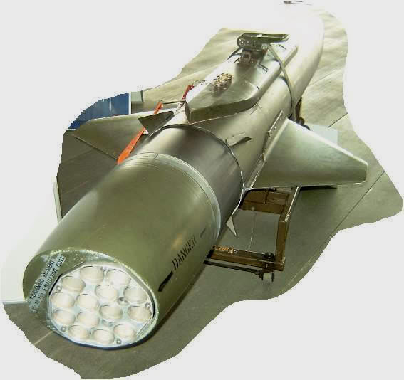 Máy phóng nhiễu dạng rocket