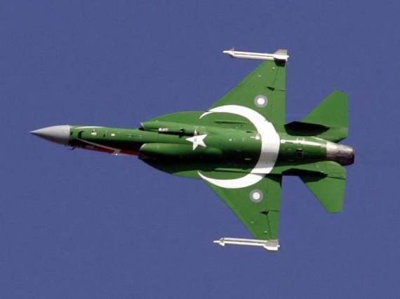 Thần sấm JF-17 của Không quân Pakistan.