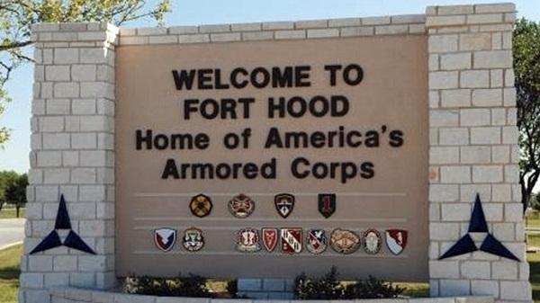 Căn cứ Fort Hood của quân đội Mỹ.
