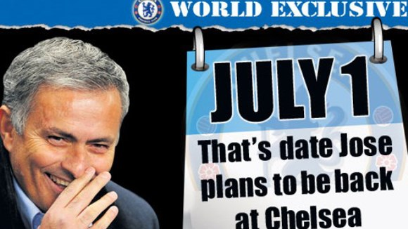 Mourinho ung dung tiến về Stamford Bridge