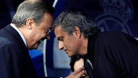 """Mou buộc Florentino Perez phải để ông ra đi mà không mất một xu tiền """"chuộc thân"""""""