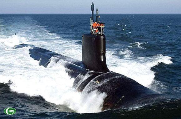 Tàu ngầm hạt nhân Hoa Kỳ đã xuất hiện gần khu vực bãi cạn Scarborough.