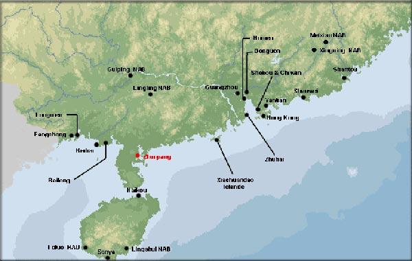 Các căn cứ của hạm đội Nam Hải đang dịch dần xuống biển Đông nhằm mưu đồ độc chiếm vùng biển giàu có này.