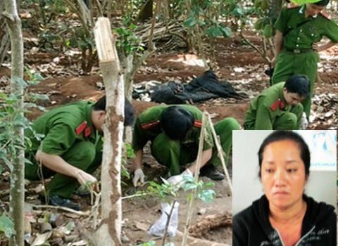 Vụ vợ bí thư xã giết người: Nhờ nhà ngoại cảm đi tìm xác mẹ