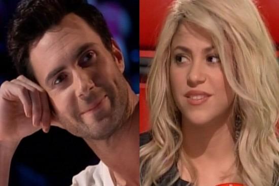 Shakira dính tin đồn phản bội Pique để cặp kè nam ca sỹ Adam Levine