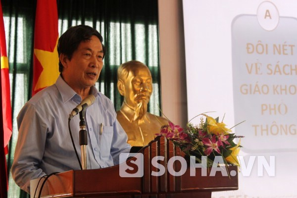 PGS.TS. Nghiêm Đình Vỳ khẳng định hình ảnh Đại tướng sẽ đậm nét trong chương trình SGK lịch sử phổ thông sau 2015.