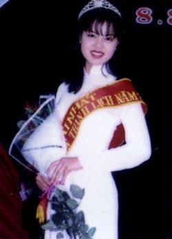 Á hậu Ngọc Oanh năm 20 tuổi