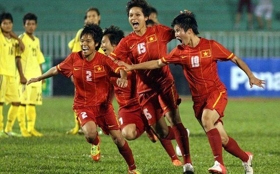 Tuyển nữ Việt Nam đang rất thăng hoa