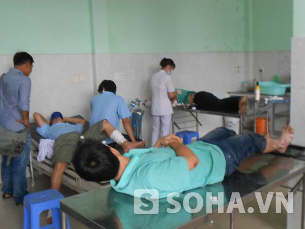 4 công nhân bị bỏng đang được điều trị tại bệnh viện