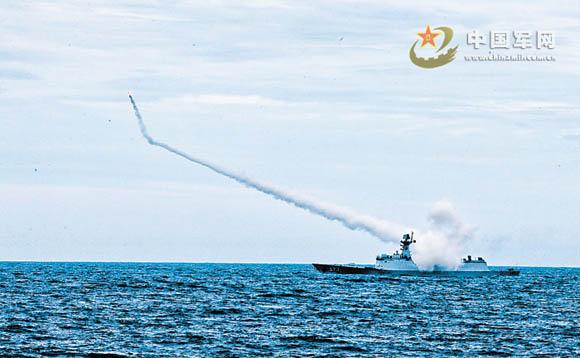 Cuộc tập trận bắn đạn thật trên Biển Đông có thể là một động thái của Trung Quốc nhằm lên gân với láng giềng
