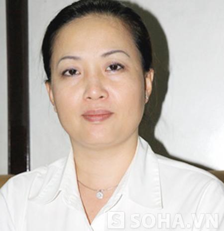 Bà Phùng Thị Lý Hà - Phó trưởng ga Hà Nội: