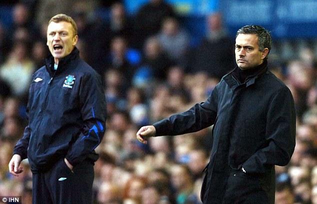Mourinho từng nhiều lần chạm mặt David Moyes