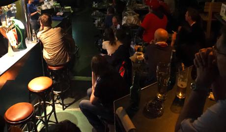 Một quán bar ở Nhật Bản
