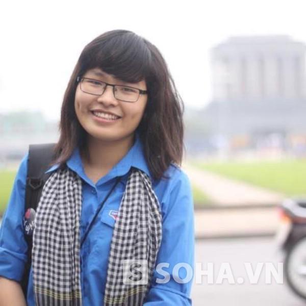 Cô nàng 9X cá tính Nguyễn Thị Gấm với ý tưởng mở quán cà phê xanh gây quỹ hoạt động tình nguyện.