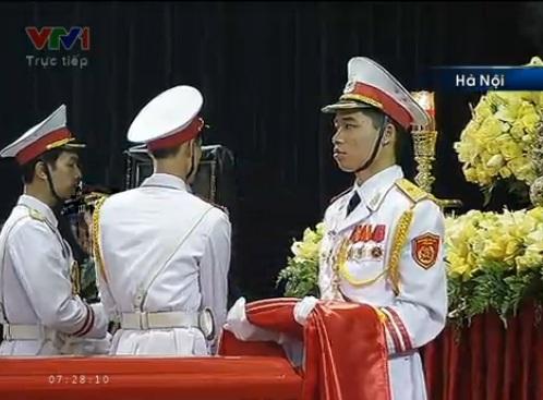 Tường thuật trực tiếp Lễ Truy điệu, Lễ An táng Đại tướng