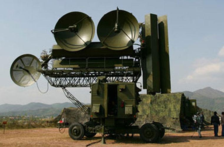 Radar Fan Song điều khiển tên lửa của tổ hợp SAM-2