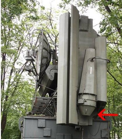 Hình ảnh thực tế Ăng-ten quét theo chiều ngang của SNR-75