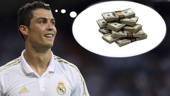 Ronaldo đã kiếm được một món lớn