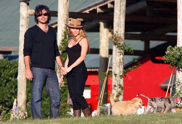Antonio de la Rua và Shakira thời mặn nồng