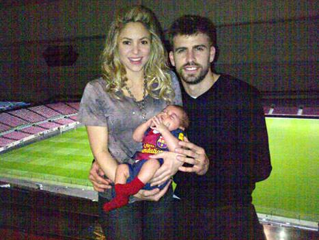 Shakira đang hạnh phúc với gia đình nhỏ cùng Pique