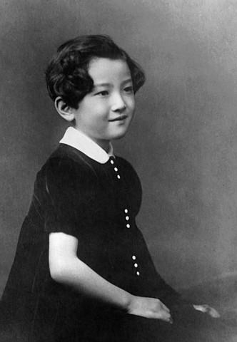 Hoàng hậu tương lai vào năm 1940