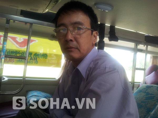 Ông Đặng Quốc Bình, quê Hà Nội.