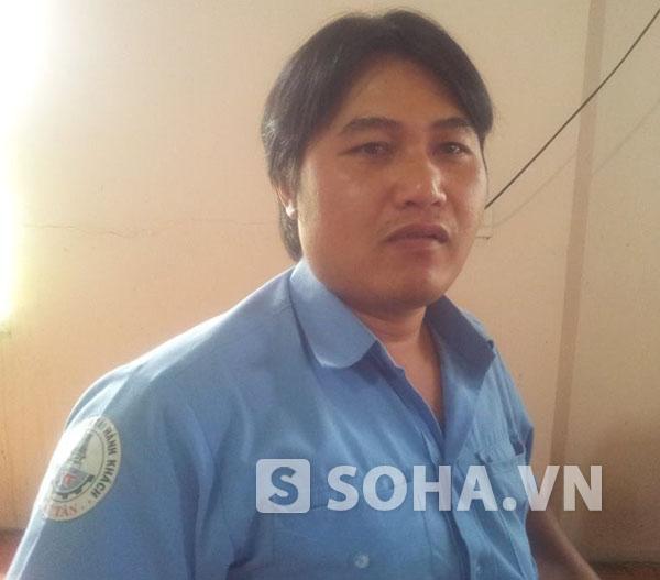 Anh Bùi Văn Tuấn, đại diện hãng xe Việt Tân chạy tuyến Hà Nội - Kon Tum.