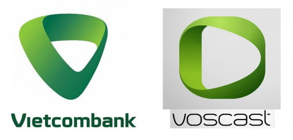 Nghi án 'đạo' logo của Vietcombank: Do lỗi kỹ thuật sao chép?