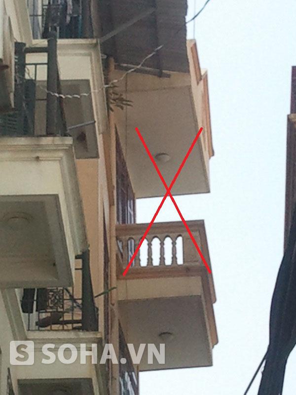 Ngôi nhà 4 tầng của gia đình đối tượng Nguyễn Mạnh Tường