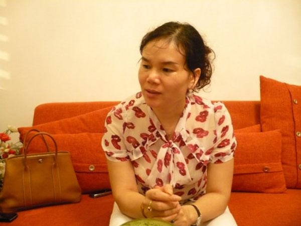 Nhà ngoại cảm Phan Thị Bích Hằng.