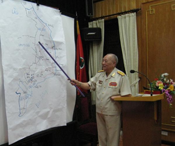 Trung tướng Lê Hữu Đức, nguyên Cục trưởng Cục tác chiến Bộ Tổng tham mưu.