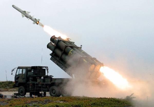 Tên lửa đất đối hạm Type-88 của Nhật Bản.
