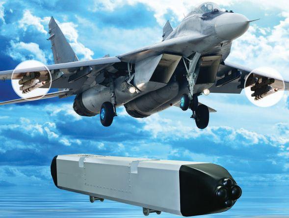 Hệ thống phòng thủ chủ động Talisman thử nghiệm trên máy bay MiG-29