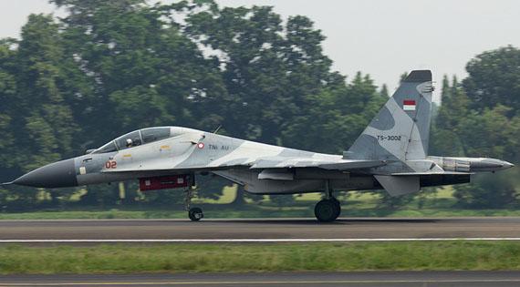 Bộ Quốc phòng Indonesia dự định đến năm 2024 thành lập 8 phi đội tiêm kích Su-30MK2, mỗi phi đội biên chế 16 chiếc.