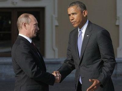 Tổng thống Nga Vladimir Putin bắt tay Tổng thống Mỹ Barack Obama tại Hội nghị Thượng đỉnh G-20 tại St Petersburg mới đây.