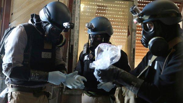 Thanh sát viên vũ khí hoá học tại Syria